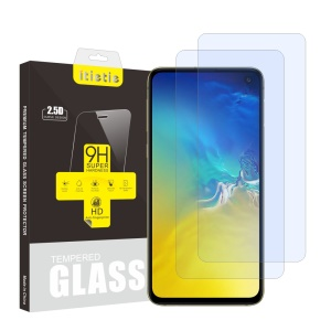 2Pcs/Set ITIETIE 2.5D 9H Tempered Glass Screen Protector for Samsung Galaxy S10e