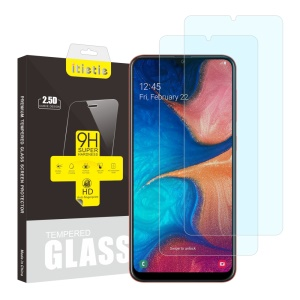 2Pcs/Set ITIETIE 2.5D 9H Tempered Glass Screen Protector for Samsung Galaxy A20 / A30 / A50 / M30 / A40s