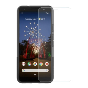 For Google Pixel 3a 0.3mm Arc Edge Tempered Glass Screen Protector Film (Arc Edge)