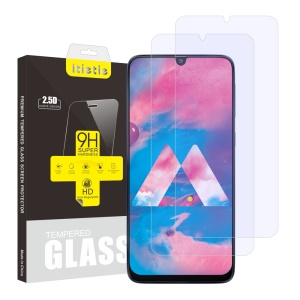 2Pcs/Set ITIETIE 2.5D 9H Tempered Glass Screen Protector for Samsung Galaxy M30/A50/A30/A20/A40s