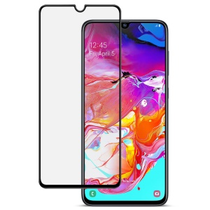 IMAK Pro+ Full Size Anti-explosion Tempered Glass Screen Protector for Samsung Galaxy A70