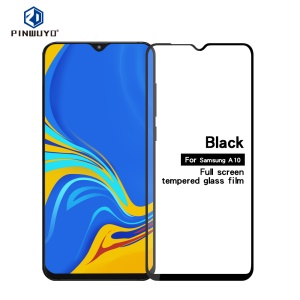 PINWUYO Full Screen Covering Anti-explosion Tempered Glass Shield for Samsung Galaxy A10