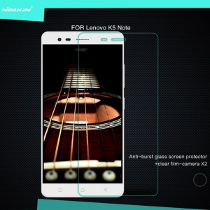 NILLKIN Amazing H Tempered Glass Screen Film for Lenovo K5 Note Anti-explosion