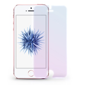 DEVIA for iPhone SE /5s/5 9H 2.5D Ultra-thin Anti-blue-ray Tempered Glass Screen Film
