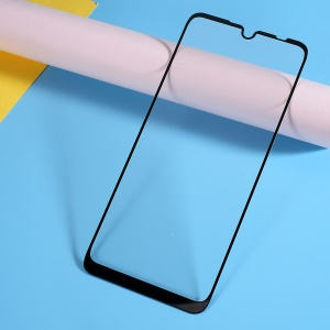 Silk Printing Tempered Glass Full Screen Coverage Protector for Xiaomi Redmi Note 7 / Note 7 Pro (India)
