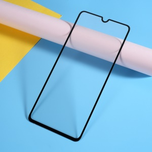 Silk Printing Tempered Glass Full Screen Coverage Protector for Samsung Galaxy A70