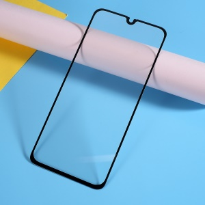 Silk Printing Tempered Glass Full Screen Coverage Protector for Samsung Galaxy A40