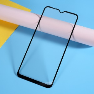 Silk Printing Tempered Glass Full Screen Coverage Protector for Samsung Galaxy A10