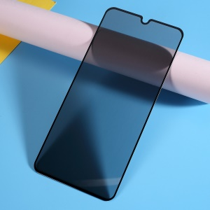 Silk Print Anti-Spy Full Coverage Tempered Glass Screen Protector Film for Huawei P30 Lite / nova 4e