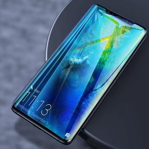2Pcs/Pack BASEUS 0.15mm Soft PET Anti-explosion Fingerprint Resistant Curved Screen Protector for Huawei Mate 20 Pro