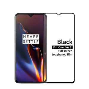 MOFI 9H Anti-burst 2.5D Arc Edge Full Size Tempered Glass Screen Protective Film for OnePlus 7
