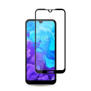 MOCOLO Silk Print Arc Edge Full Coverage 9H HD Tempered Glass Screen Protector for  Huawei Y5 (2019) / Honor 8S