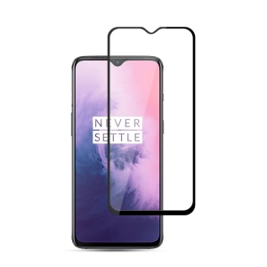 MOCOLO Silk Print Arc Edge Full Coverage 9H HD Tempered Glass Screen Protector for OnePlus 7