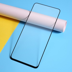 Anti-explosion Full Screen Silk Printing Tempered Glass Protector for Samsung Galaxy A90/A80