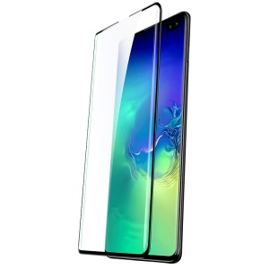 USAMS 0.33mm 9H 3D Tempered Glass Full Size Screen Protector [Fingerprint Unlocking Supported] for Samsung Galaxy S10