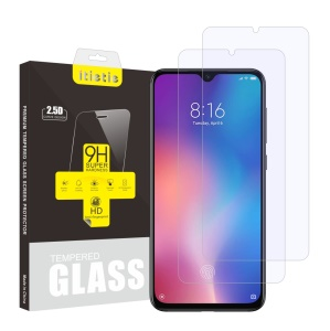ITIETIE 2.5D 9H Tempered Glass Screen Protectors for Xiaomi Mi 9 SE [2Pcs/Set]