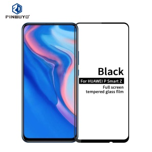 PINWUYO Full Screen Tempered Glass Guard Film Anti-explosion for Huawei P Smart Z