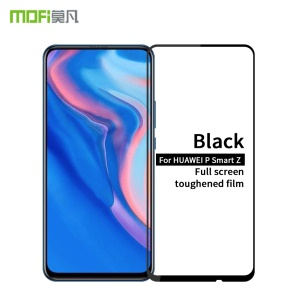 MOFI 2.5D 9H Full Covering Tempered Glass Screen Protector Guard for Huawei P Smart Z - Black