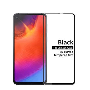 MOFI 3D Curved Tempered Glass Complete Covering Screen Guard Film for Samsung Galaxy A60