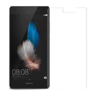 For Huawei Ascend P8 Lite Tempered Glass Screen Protector Film 0.3mm (Arc Edge)