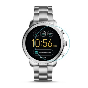 2.5D Arc Edges Tempered Glass Screen Protective Film for Fossil Q Explorist Gen 3 Smartwatch