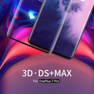NILLKIN 3D DS+MAX Full Glue Curved Tempered Glass Film for OnePlus 7 Pro / 7T Pro