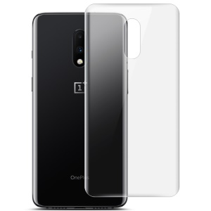 IMAK Clear Hydrogel Film III Full Coverage Soft Explosion-proof Back Protector Film [2Pcs/Set ] for OnePlus 7