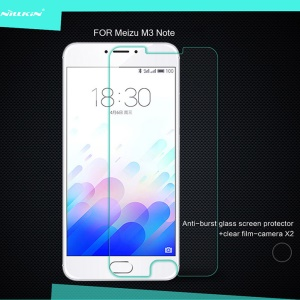 NILLKIN Amazing H Tempered Glass Screen Protector for Meizu M3 Note / Blue Charm Note3