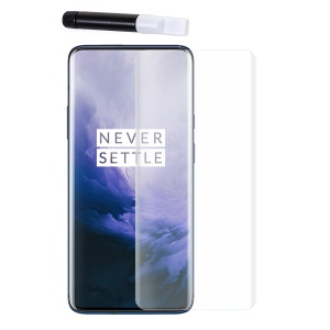 RURIHAI 3D Full Glue UV Liquid Tempered Glass Screen Guard for OnePlus 7 Pro / 7T Pro