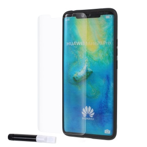 RURIHAI 3D Full Glue UV Liquid Tempered Glass Screen Film Cover for Huawei Mate 20 Pro