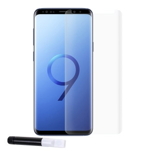 RURIHAI 3D Full Glue UV Liquid Tempered Glass Screen Protector for Samsung Galaxy S9+