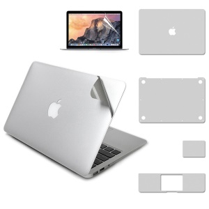 LENTION 5-in-1 All-round Laptop Protective Protector Flim for MacBook Pro Air 13.3-inch
