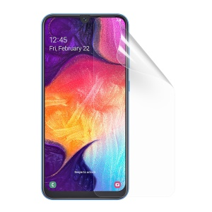 Ultra Clear TPU Anti-glare Full Size Soft Screen Protector for Samsung Galaxy A50/A50s/A30s / A30 - Transparent
