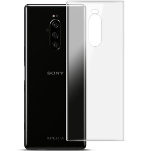 2Pcs/Set IMAK Hydrogel Film 3 for Sony Xperia 1 Phone Back Cover Protector Guard