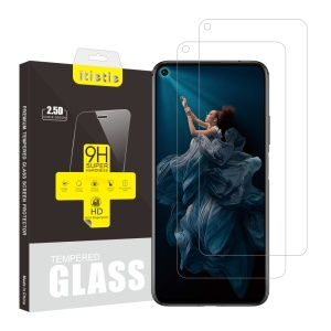 ITIETIE 2Pcs/Pack 2.5D 9H Tempered Glass Screen Protector for Huawei Honor 20 Pro / Honor 20 / Honor 20S