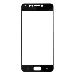 Silk Printing Full Size Tempered Glass Screen Film for Asus Zenfone 4 Max ZC520KL - Black