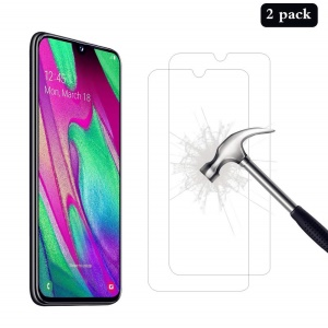 2PCS/Set 2.5D 9H Anti-explosion Tempered Glass Screen Protector for Samsung Galaxy A40