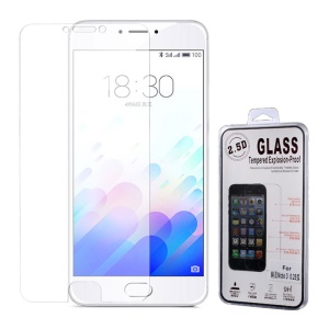 0.25mm 9H Surface Hardness Tempered Glass Film for Meizu m3 note