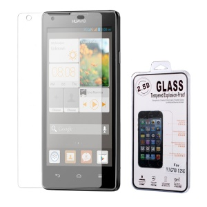 0.25mm Tempered Glass Screen Guard Arc Edge for Huawei Ascend G700