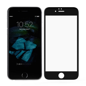 NILLKIN 3D CP+ MAX para iPhone 6s 6 Cobertura completa Curved Anti-filme de explosão Tempered Glass - negro