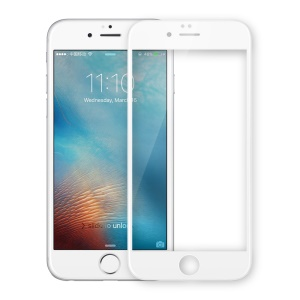 NILLKIN 3D CP+ MAX para iPhone 6s 6 Cobertura completa Curved Anti-filme de explosão Tempered Glass - branco
