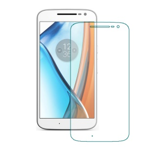 For Motorola Moto G4 Tempered Glass Screen Protector Film 0.3mm (Arc Edge)