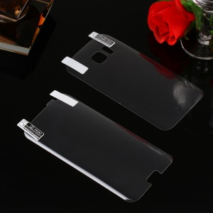 0.1mm Front + Back PET Curved Full Coverage Screen Protector Film for Samsung Galaxy S7 G930