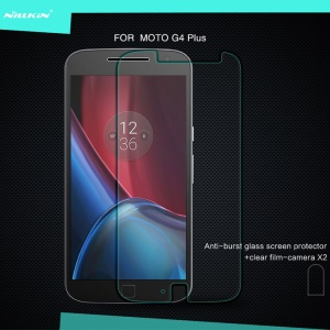 NILLKIN Amazing H Tempered Glass Screen Guard for Motorola Moto G4 / G4 Plus Anti-Explosion