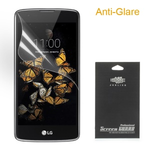 Matte Anti-glare Screen Protector Film for LG K8 (With Black Package)