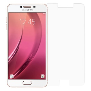 For Samsung Galaxy C5 0.3mm Tempered Glass Screen Protector Film Guard (Arc Edge)