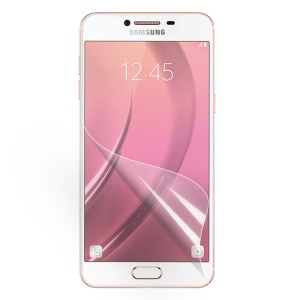 For Samsung Galaxy C7 Full Coverage Soft Screen Protector Guard Film