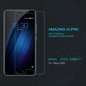 NILLKIN for Meizu m3s Tempered Glass Screen Film Amazing H+PRO Nanometer Anti-Explosion