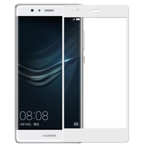 NILLKIN Amazing CP+ Tempered Glass Screen Guard for Huawei P9 Plus Full Coverage - White