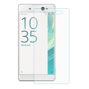 For Sony Xperia XA Ultra Tempered Glass Screen Film Guard 0.3mm Arc Edge